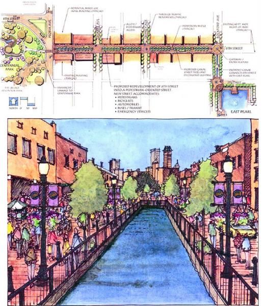 Tulsa 6th Street Canal plan